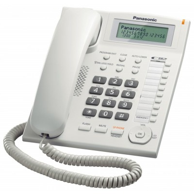 Telefon analogic Panasonic model  KX-TS880FXW