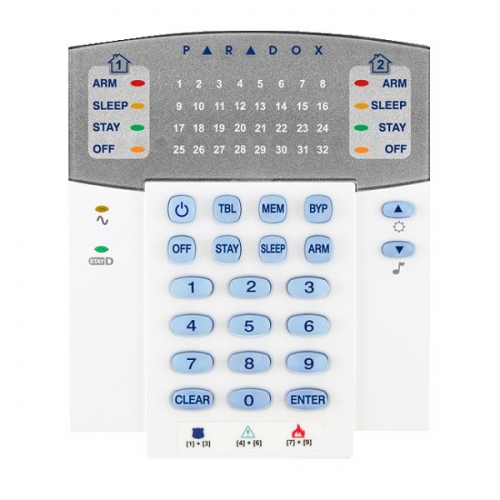 Tastatura LED,32 zone radio,compatibila cu ȘMG6160 si MG6130 model K32W