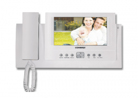 "Monitor color 5"", functii securitate tip ""home automatization"",model CAV-501D"