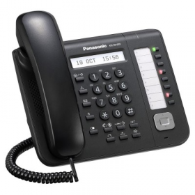 Telefon proprietar Panasonic model KX-NT551X-B, IP
