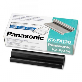 Film fax Panasonic model KX-FA136A-E