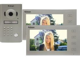 Videointerfon U.Smart USM2307W cu ecran color 7 inch